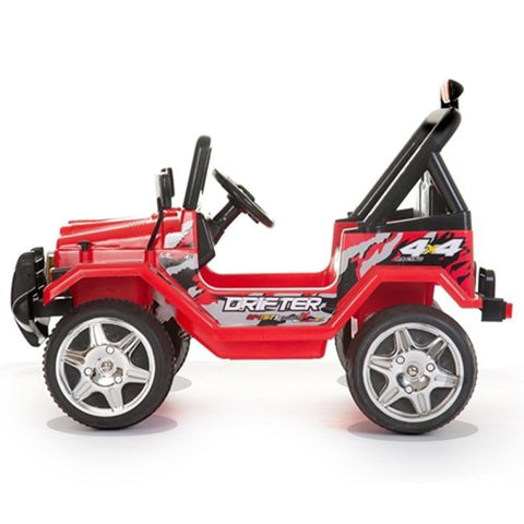 Battery Powered - 12V 2 Seater Kids 4x4 Electric Truck - Red 2