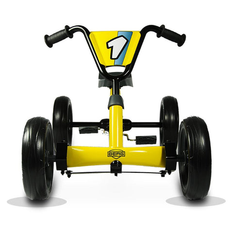BERG Buzzy Kids Pedal Go-Kart - Yellow 2