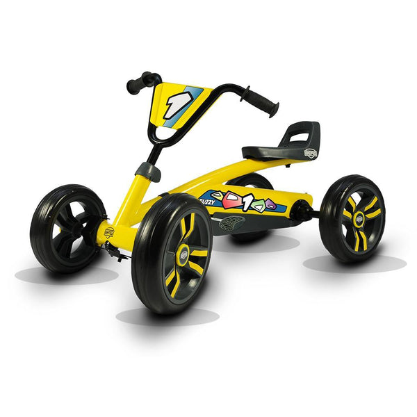 BERG Buzzy Kids Pedal Go-Kart - Yellow