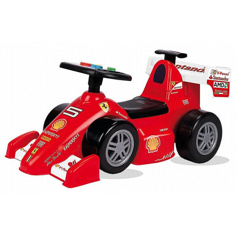 Feber Foot to Floor Ferrari Ride on Car with Handle