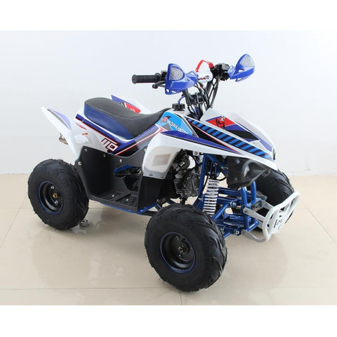Hawkmoto 110cc Wasp Kids Quad Bike - Blue 2