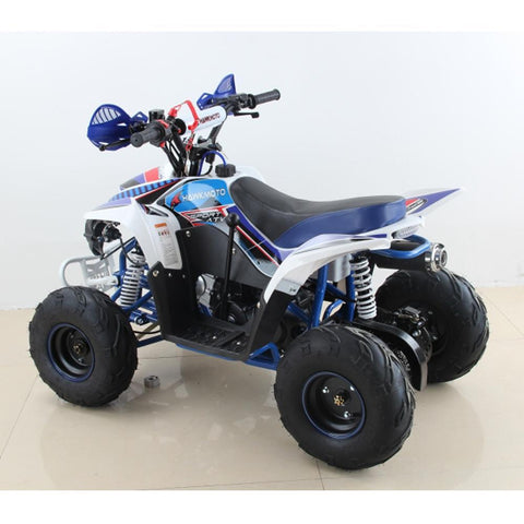 Hawkmoto 110cc Wasp Kids Quad Bike - Blue 4