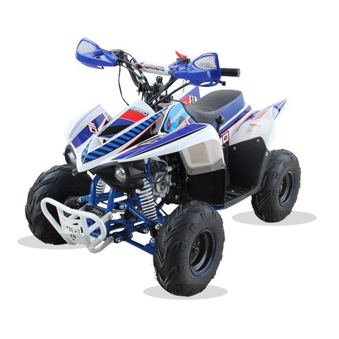 Hawkmoto 110cc Wasp Kids Quad Bike - Blue 2018