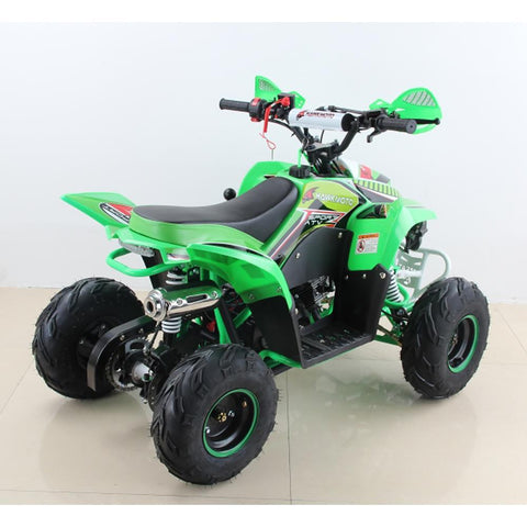 Hawkmoto 110cc Wasp Kids Quad Bike - Green 3