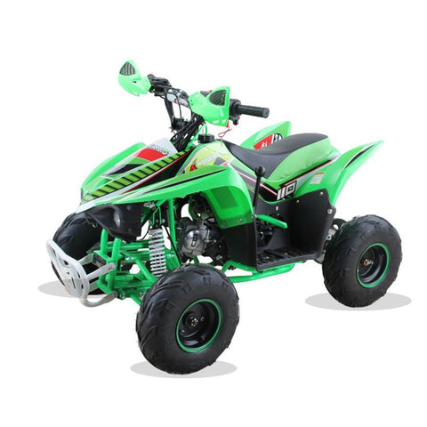 Hawkmoto 110cc Wasp Kids Quad Bike - Green 2018