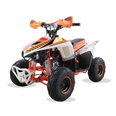 Hawkmoto 110cc Wasp Kids Quad Bike - Orange 2018