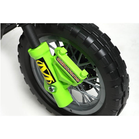 Mini Motocross - 6V Kids' Electric Ride On Bike in Green 4
