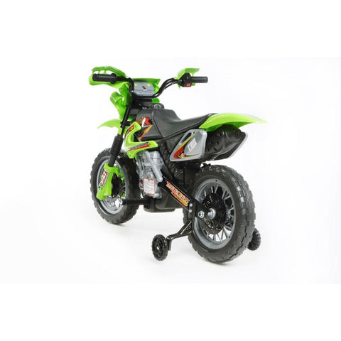 Mini Motocross - 6V Kids' Electric Ride On Bike in Green 3