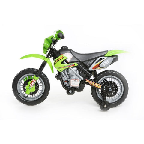 Mini Motocross - 6V Kids' Electric Ride On Bike in Green 2