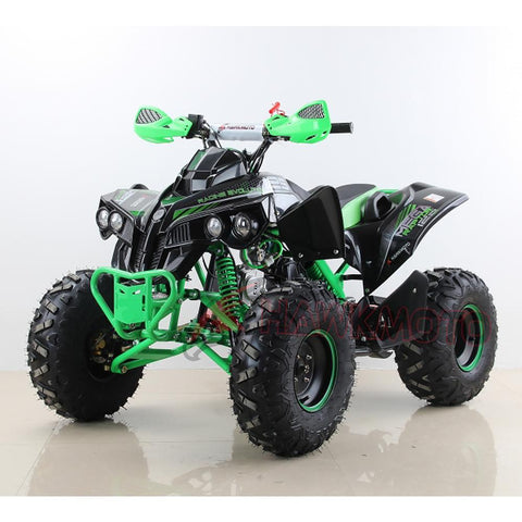 Hawkmoto Mega Raptor Kids 125cc Sports Quad Bike - Green 3