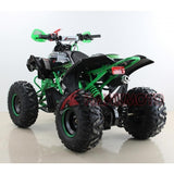 Hawkmoto Mega Raptor Kids 125cc Sports Quad Bike - Green 4