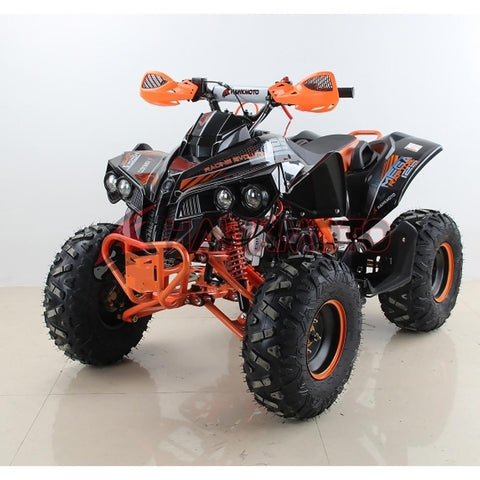 Hawkmoto Mega Raptor Kids 125cc Sports Quad Bike - Orange 3