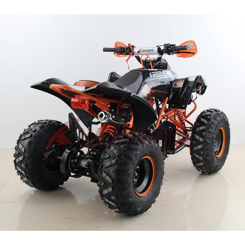 Hawkmoto Mega Raptor Kids 125cc Sports Quad Bike - Orange 4