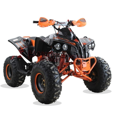 Hawkmoto Mega Raptor Kids 125cc Sports Quad Bike - Orange