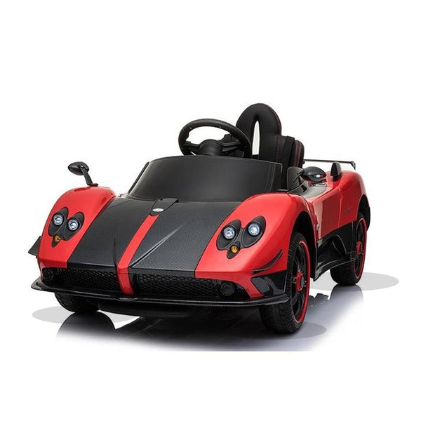 Licensed Pagani Zonda Cinque Roadster 12v Kids Ride on Electric Car With Remote Control - Red