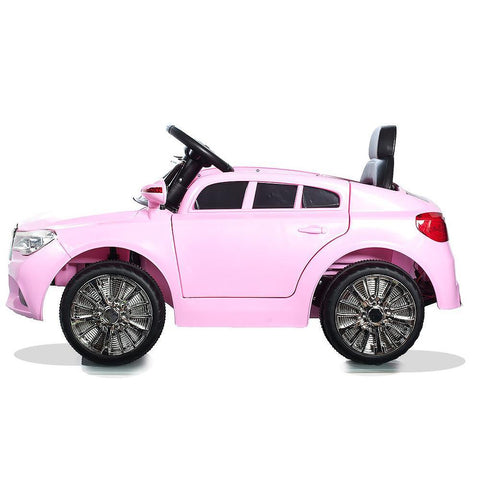 Pink C Class Saloon - 12V Kids' Electric Ride On Car 2