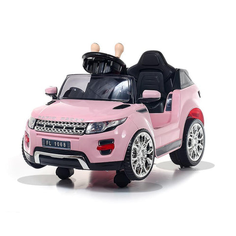 Battery Powered - 6V Pink Evoque Ride On Car 2