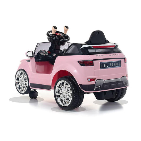 Battery Powered - 6V Pink Evoque Ride On Car 3