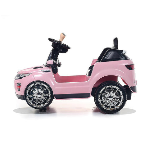 Battery Powered - 6V Pink Evoque Ride On Car 4