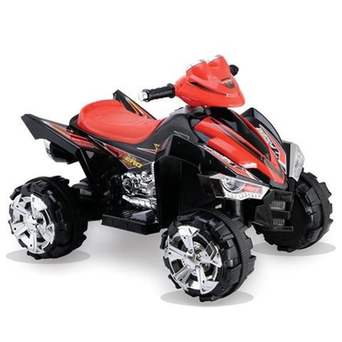 Predatour 12v Electric Battery Powered Kids Quad - Black