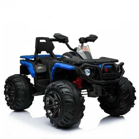 Predatour 12v Kids Electric Ride on Beach Quad Bike - Blue