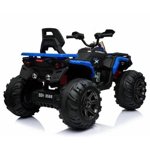 Predatour 12v Kids Electric Ride on Beach Quad Bike - Blue 3