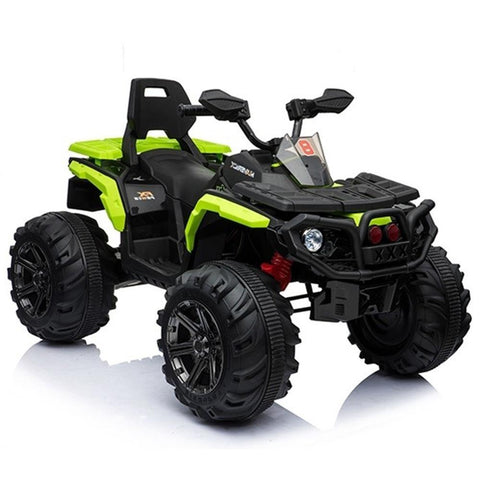 Predatour 12v Kids Electric Ride on Beach Quad Bike - Green