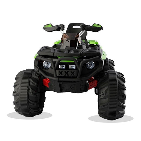Predatour 12v Kids Electric Ride on Beach Quad Bike - Green 2
