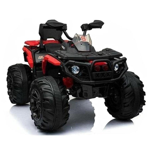 Predatour 12v Kids Electric Ride on Beach Quad Bike - Red