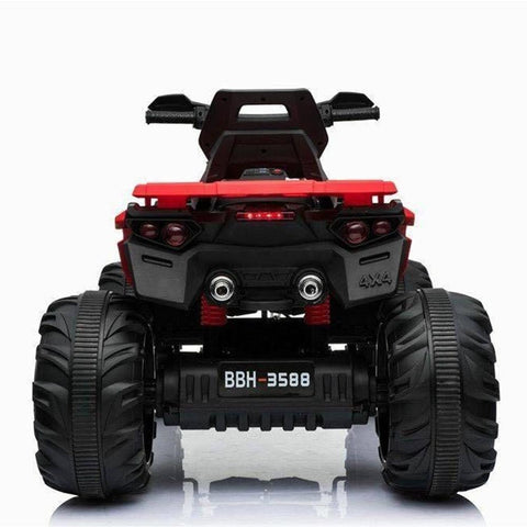 Predatour 12v Kids Electric Ride on Beach Quad Bike - Red 2