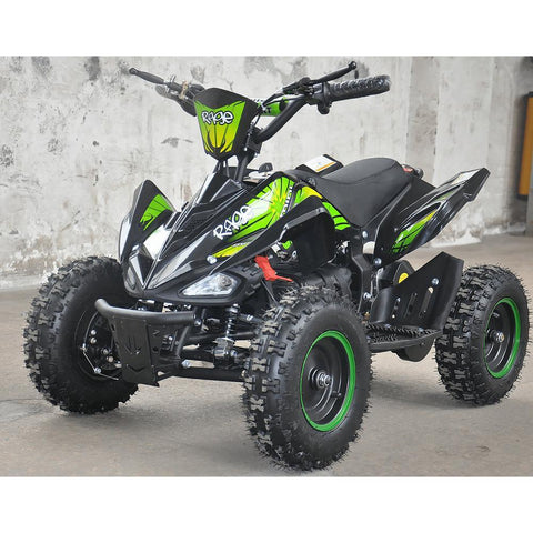 Rage Monster Extreme - 36v Electric Kids Quad Bike - Green 2