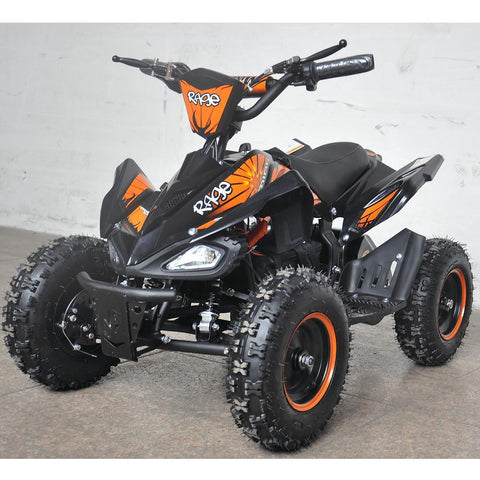 Rage Monster Extreme - 36v Electric Kids Quad Bike - Orange 2