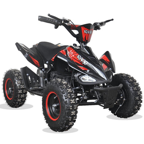 Rage Monster Extreme - 36v Electric Kids Quad Bike - Red