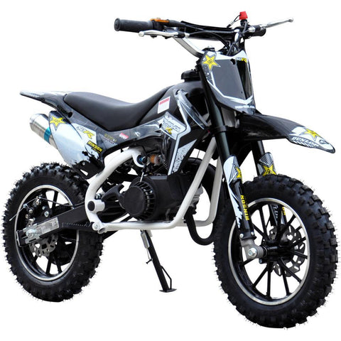 Renegade 50R Kids 49cc Petrol Mini Dirt Bike - White