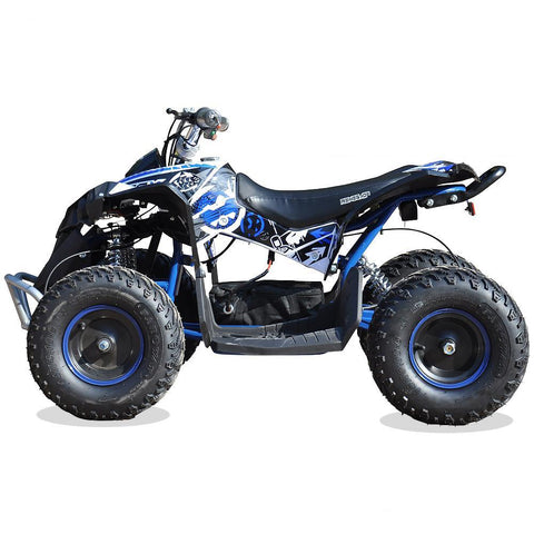 Renegade Race-X 36V 1100W Output Electric Kids Quad Bike - Blue 2