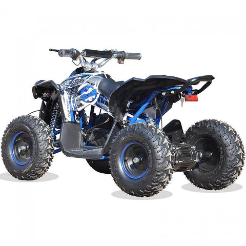 Renegade Race-X 36V 1100W Output Electric Kids Quad Bike - Blue 3