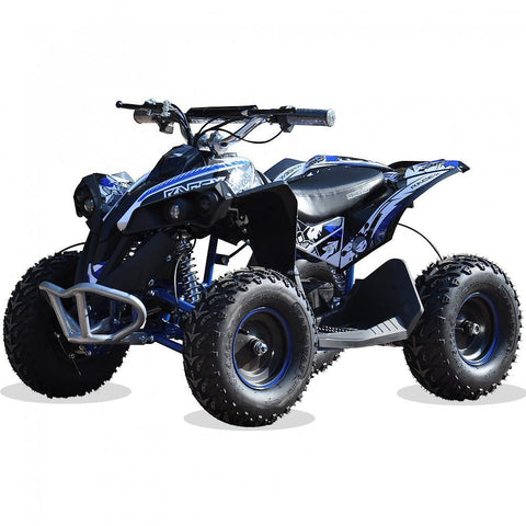 Renegade Race-X 36V 1100W Output Electric Kids Quad Bike - Blue 4