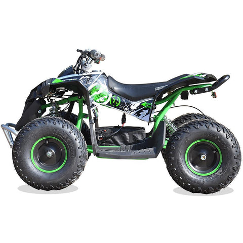 Renegade Race-X 36V 1100W Output Electric Kids Quad Bike - Green 2