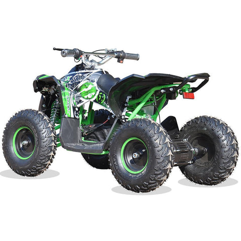 Renegade Race-X 36V 1100W Output Electric Kids Quad Bike - Green 3