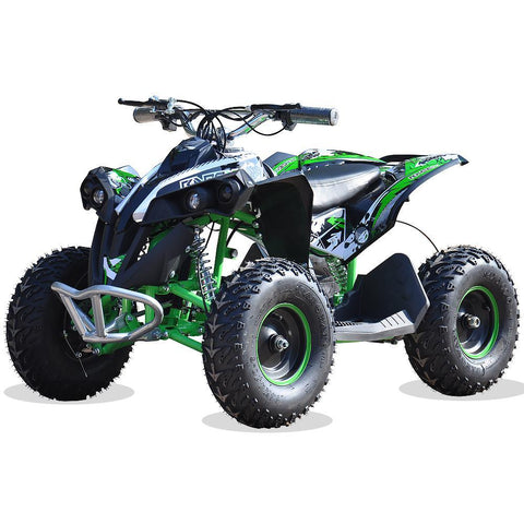 Renegade Race-X 36V 1100W Output Electric Kids Quad Bike - Green 4