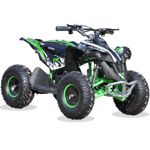 Renegade Race-X 36V 1100W Output Electric Kids Quad Bike - Green