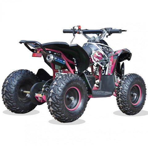Renegade Race-X 49cc Kids Petrol Quad - Pink 3
