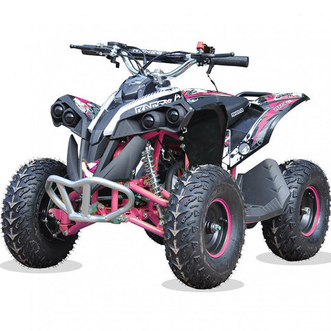 Renegade Race-X 49cc Kids Petrol Quad - Pink 4