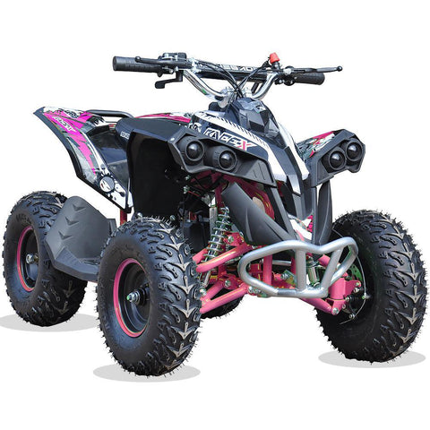 Renegade Race-X 49cc Kids Petrol Quad - Pink