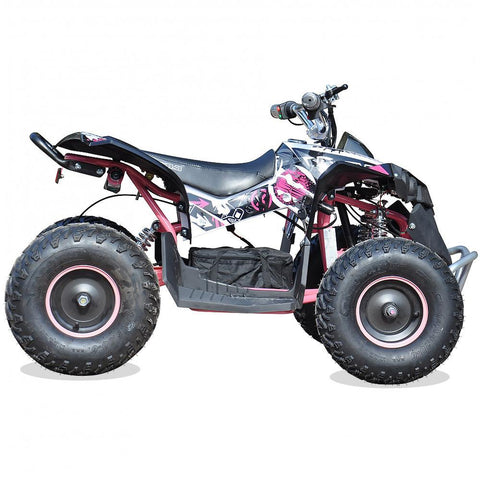 Renegade Race-X 36V 1100W Output Electric Kids Quad Bike - Pink 2