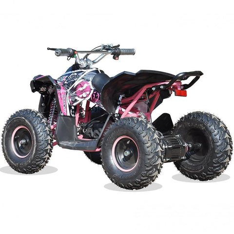 Renegade Race-X 36V 1100W Output Electric Kids Quad Bike - Pink 3