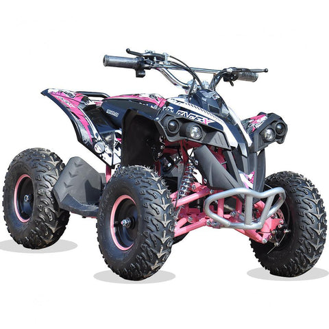 Renegade Race-X 36V 1100W Output Electric Kids Quad Bike - Pink