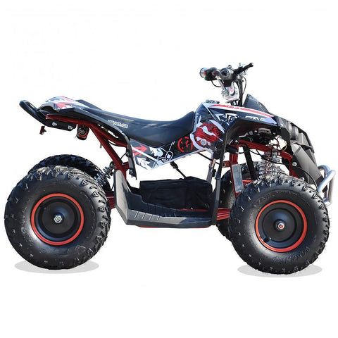 Renegade Race-X 36V 1100W Output Electric Kids Quad Bike - Red 2