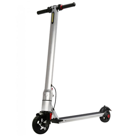 Renegade 250W Lithium Battery Electric I8 Scooter - Brushed Silver