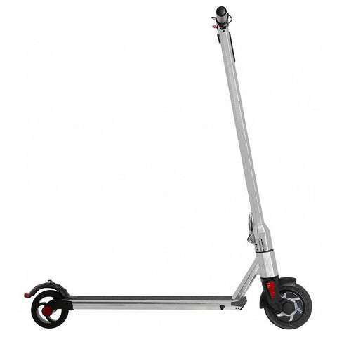 Renegade 250W Lithium Battery Electric I8 Scooter - Brushed Silver 2